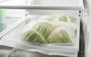 Как хранить капусту в холодильнике (свежую, разрезанную, тушеную и т.д.): как правильно, сколько хранится и как продлить срок?
