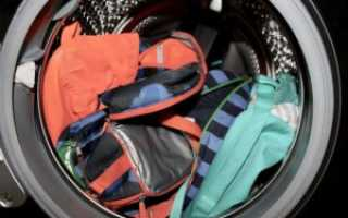 Как стирать рюкзак (Бекман, с USB-кабелем, Swissgear и др.) в стиральной машине-автомат и вручную, как почистить от грязи тот,