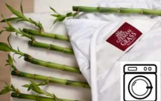 Как постирать бамбуковое одеяло вручную, можно ли в стиральной машине-автомат, как сушить изделие с наполнителем из бамбука?