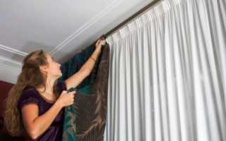Как стирать шторы (японские, капроновые, из полиэстера, бархатные, льняные, с крючками и т.д.): можно ли в стиральной машине (на