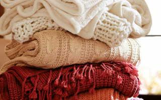 Как стирать свитер (из акрила, кашемировый и т.д.) в стиральной машине и вручную, как правильно сушить, чтобы не сел