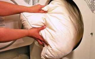 Как постирать подушку из синтепона: можно ли в стиральной машине-автомат, ручная стирка изделия с синтепоновым наполнителем