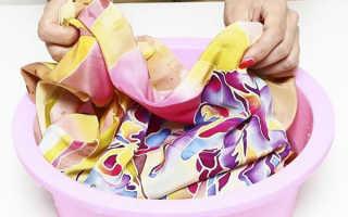 Как стирать шелк (натуральный, искусственный): можно ли в стиральной машине и при какой температуре, правила ручной стирки шелковых вещей